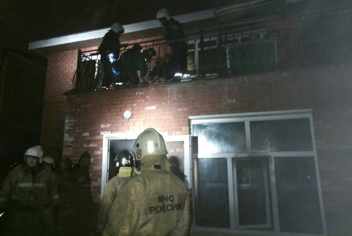 Впожаре  виркутском доме престарелых пострадали 12 человек
