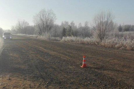 Шофёр фургона незаметил, как сбил насмерть нетрезвого пешехода вИркутской области