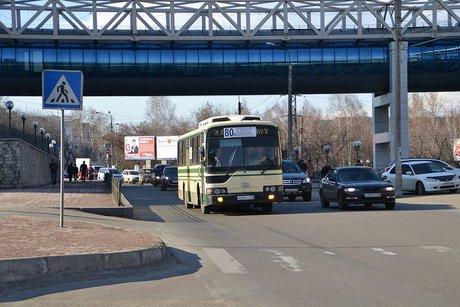 Проезд наобщественном транспорте вИркутске будет дороже ввечернее время