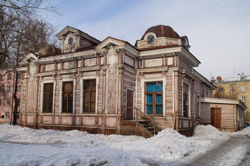 Сооружение Дома актёра вИркутске дождалось реконструкции
