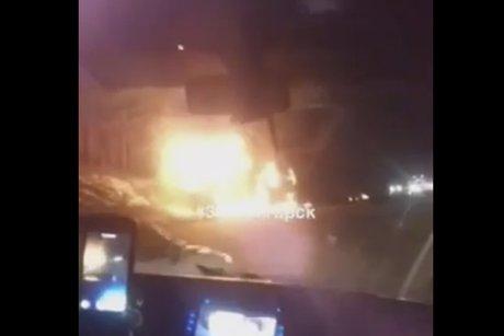 Двое взрослых иребенок погибли в трагедии с фургоном под Иркутском