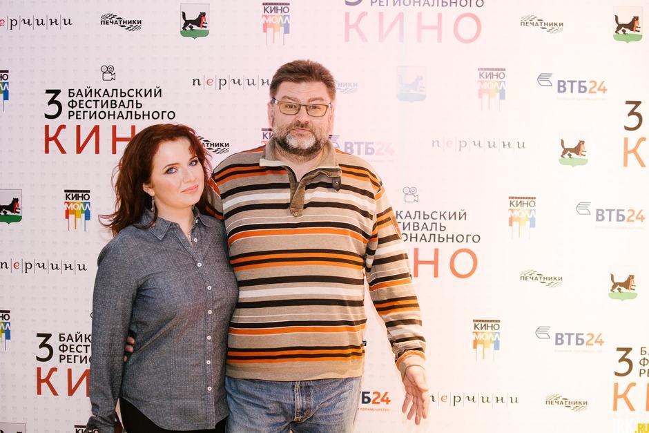Заместитель генерального директора по развитию телекомпании АИСТ Александра Поблинкова и генеральный директор издательского дома «Байкал24» Владимир Кочетов
