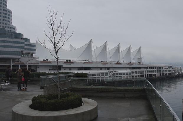 Вид на порт Ванкувера