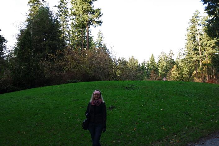 Центральный парк города Бёрнаби, парк прямо в центре города, но по ощущениям как-будто ты в лесу