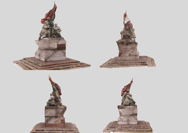 3D-модель памятника. Изображение предоставлено комитетом по градостроительной политике Иркутска