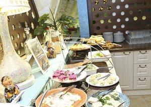 Обедать в ресторане узбекской кухни одно удовольствие!