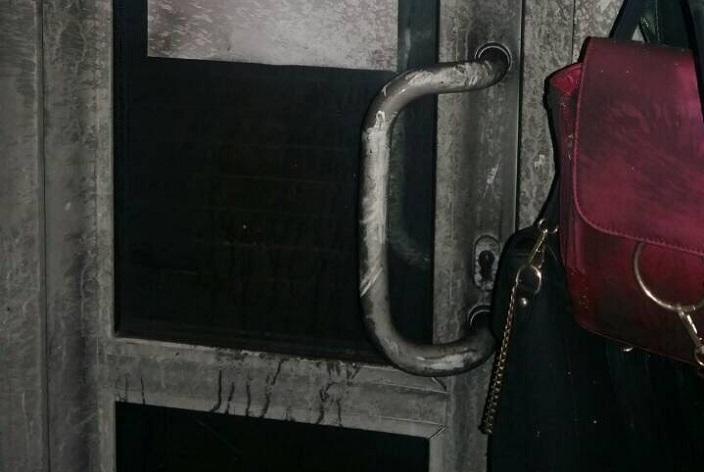 Сгоревший наавтомойке вИркутске Ауди A6 попал нафото