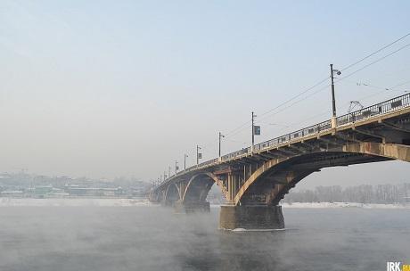 В Иркутске. Фото Ильи Татарникова