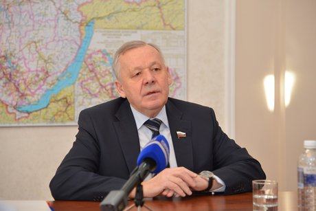 Виталий Шуба. Фото пресс-службы Заксобрания Иркутской области