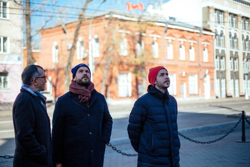 Алексей Петров, Сергей Клещев и Александр Гранд