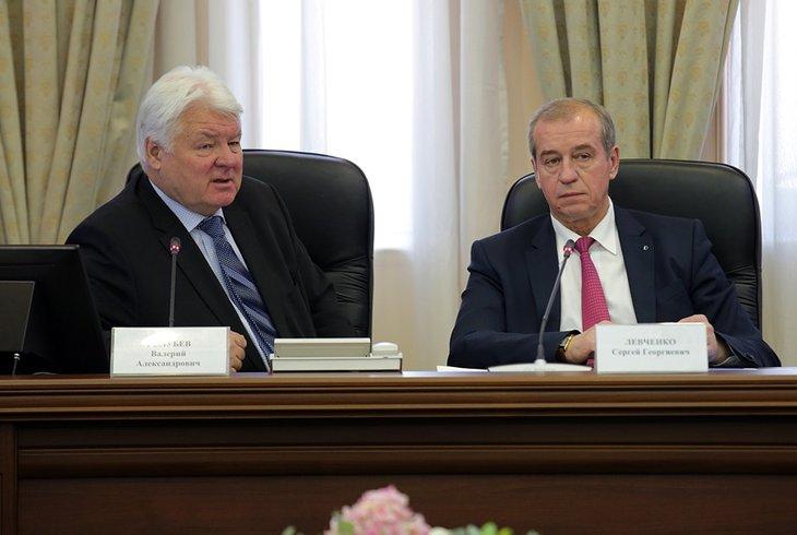 На заседании рабочих групп. Фото с сайта правительства Иркутской области