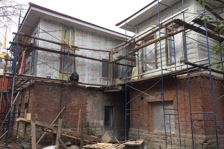 Близится кконцу реставрация «Дома сольвами» вИркутске
