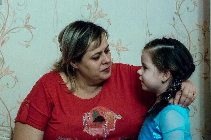 Мама и дочь. Фото Зарины Весна