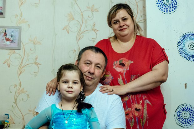 Сергей, Есения и Ульяна. Фото Зарины Весна