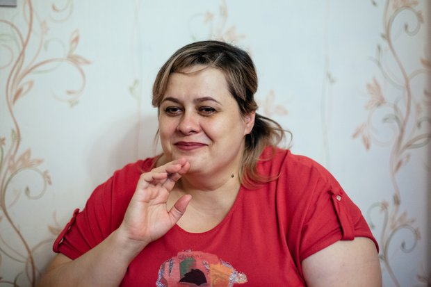 Мама Есения. Фото Зарины Весна