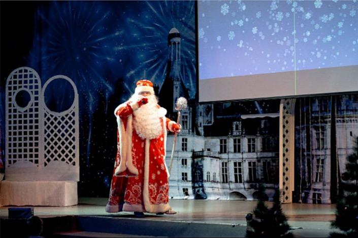 Новогодний праздник в «Байкал Бизнес Центре». Фото предоставлено организаторами