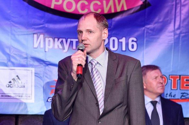 Илья Резник. Фото с сайта минспорта Иркутской области