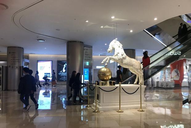 Торговая галерея в Lotte World Tower