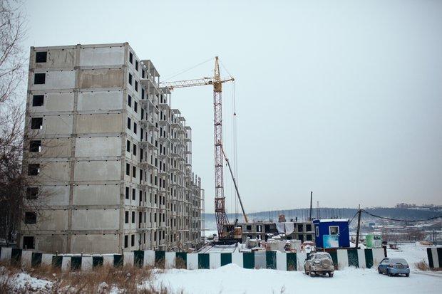 Стройка жилого комплекса