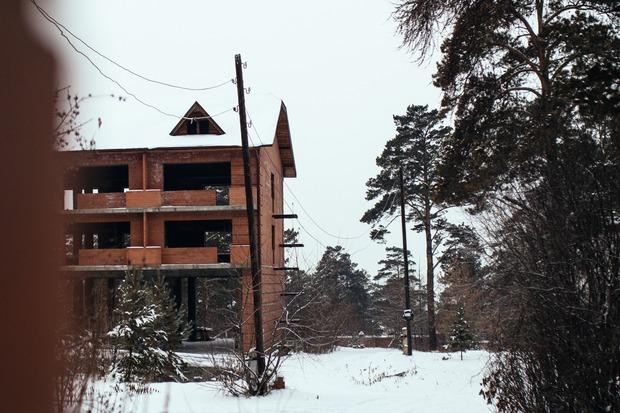 Заброшенное здание детского сада