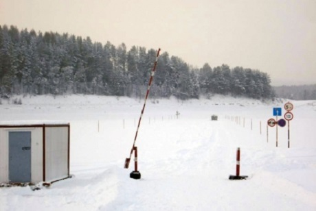 ВПрибайкалье открылась первая автомобильная ледовая переправа