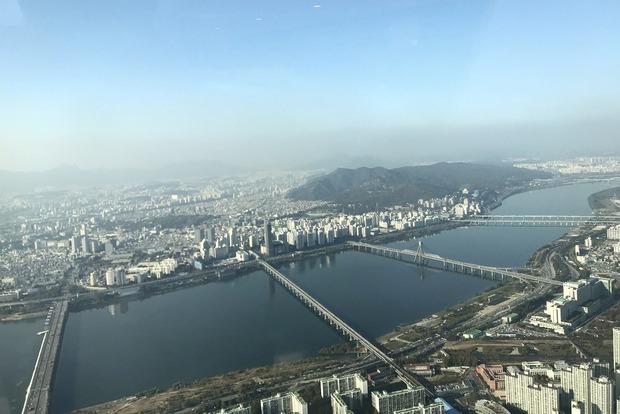 Вид на реку Хан