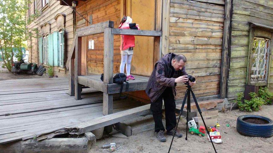 Весь фильм снят на Nikon D5300 c объективом 35mm f/1.8