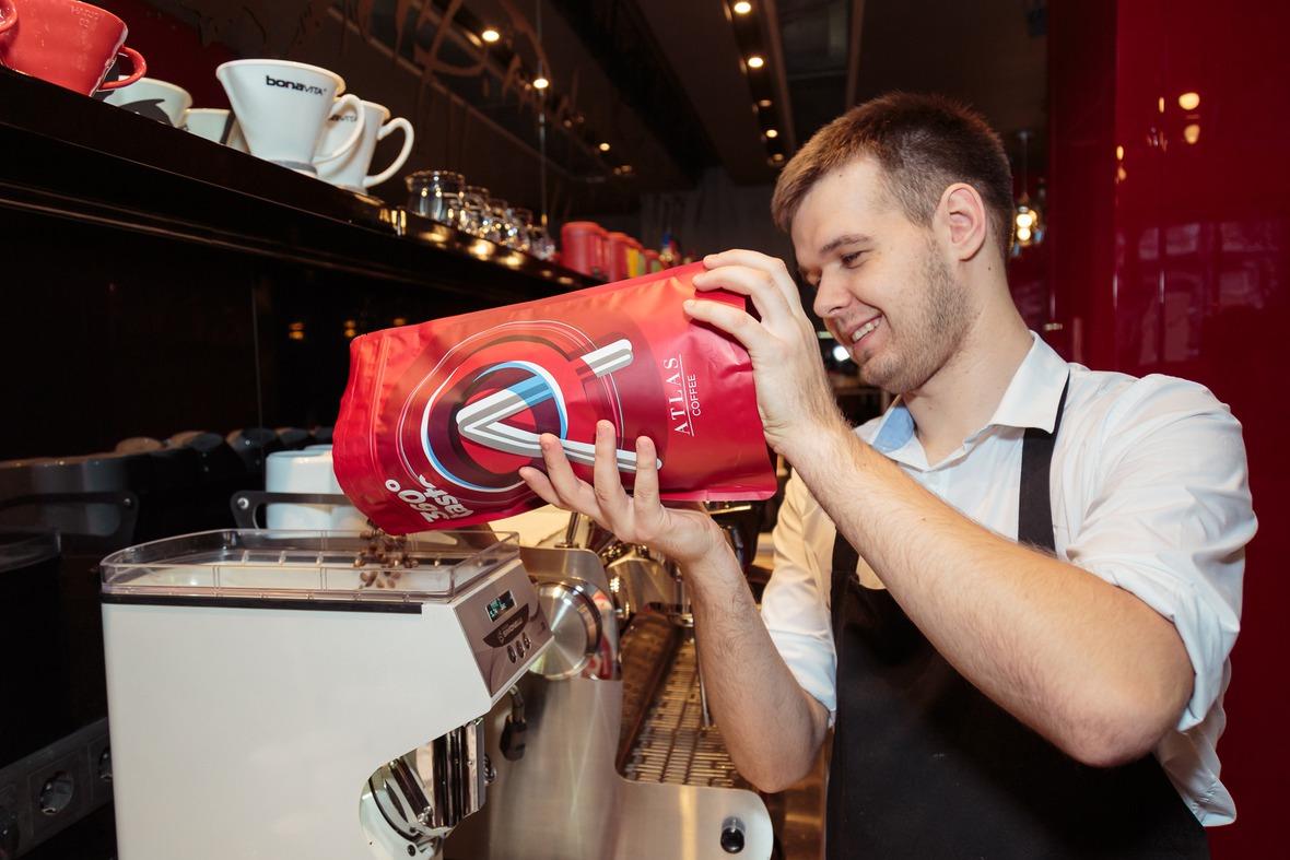 Atlas Coffee сотрудничает с разными заведениями