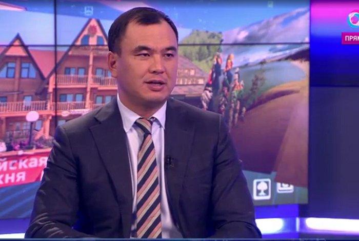 Сергей Тен. Скриншот эфира