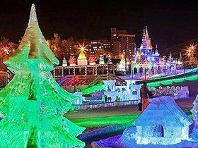 Приходите всей семьёй в ледяной городок «Хрустальная сказка»