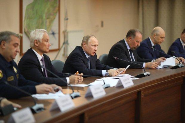 Президент в Иркутске. Фото пресс-службы правительства Иркутской области