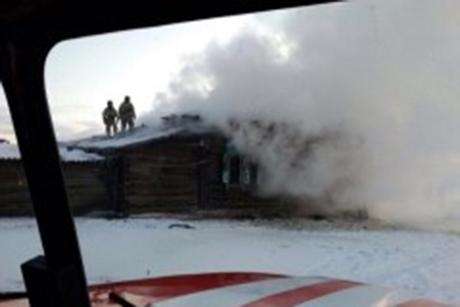 Напожаре впоселке Усть-Ордынский погибли два человека