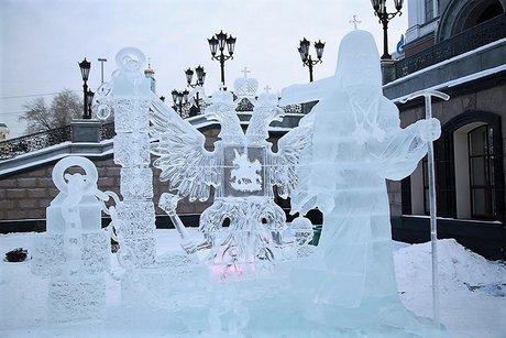 Иркутяне победили нарождественском фестивале ледовых скульптур вЕкатеринбурге