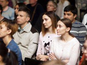 Заседание Иркутского киноклуба в Краеведческом музее