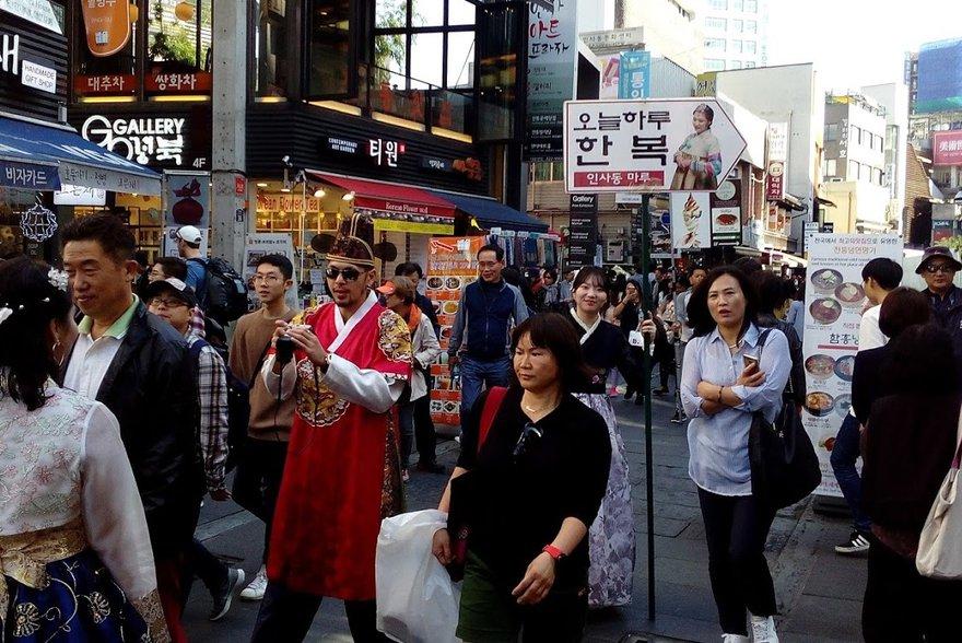 Улица в Корее