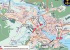 Карта рисков в Иркутске. Изображение ГУ МЧС России по Иркутской области