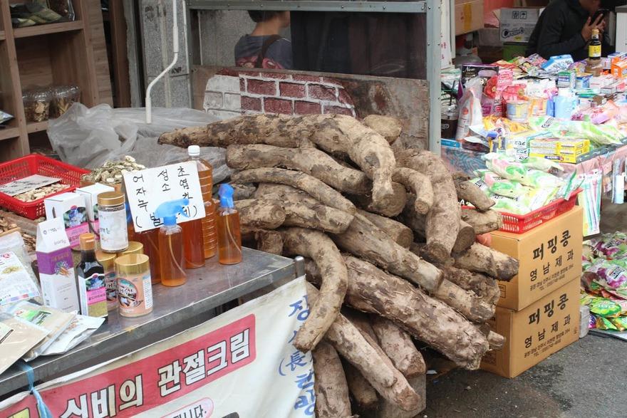 Рынок в Бусане