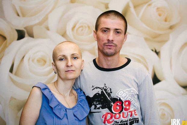 Евгения с мужем Андреем