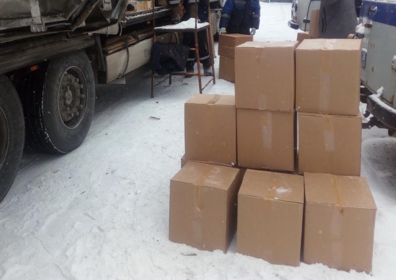 ВСлюдянском районе задержана фура споддельными сигаретами