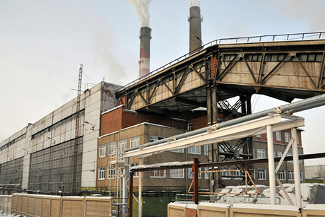 Вжилом квартале Братска появились проблемы сотоплением из-за промерзшего угля