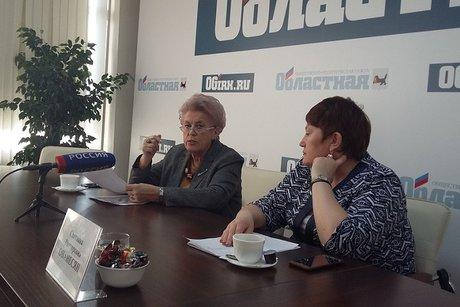 Виктория Дворниченко и Светлана Ованесян. Фото пресс-центра «Областная»