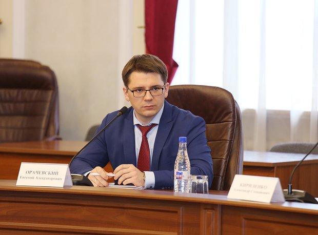 Глава минэкономразвития региона Евгений Орачевский. Фото с сайта irkobl.ru