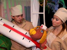 Кукольное представление «Айболит»