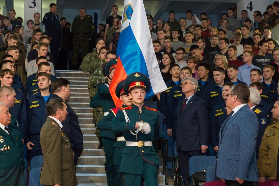 31 августа 2017 года председатель правительства РФ Дмитрий Медведев подписал распоряжение о создании военной кафедры в ИРНИТУ.