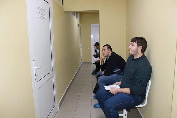 В филиале поликлиники № 17. Фото пресс-службы минздрава региона