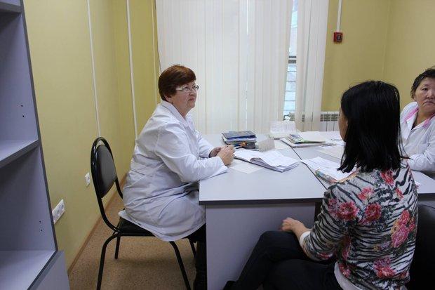 Прием у врача. Фото пресс-службы минздрава региона