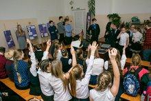 Мероприятия в школе. Фото Анны Силантьевой
