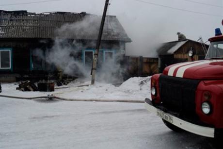 Три человека погибли напожаре вНижнеудинске