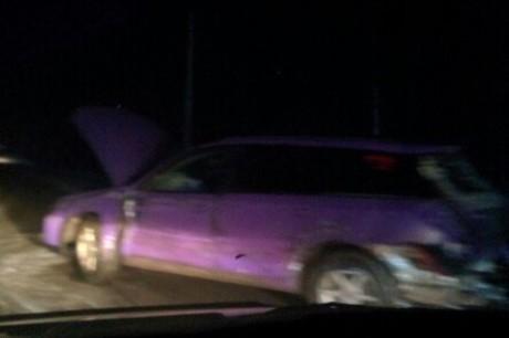 На месте аварии. Фото из группы «ДТП 38RUS»