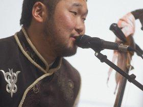 Концерт бурятской группы SHONO в Галерее Виктора Бронштейна